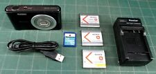 Sony Cyber-shot 20.1 MP Digital Camera - Black - many extras - works perfectly