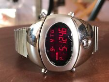 Very Rare Pulsar Spoon by SEIKO SPACE AGE AMAZING LCD DIGITAL WATCH