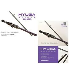 Megabass HYUGA 2piece 69L-S Spinning Rod Fishing Pole Canne