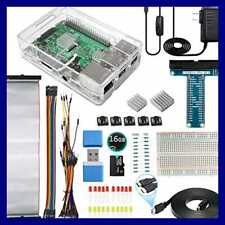 Ultimate Starter Kit For Raspberry Pi 3 B+ Model B Includes Clear Case 16GB Micr