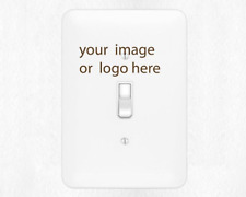 Create your own personalized Metal Switch Light ,rocker switch covers, outlet