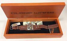 Star Wars Clone Wars Fossil Watch Limited Edition #1142/200 w/COA