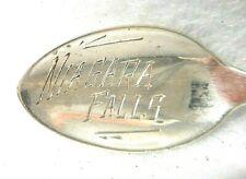 Sterling Silver Souvenir Spoon Canada, Niagara Falls