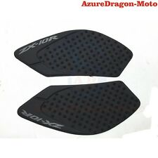 For 2008-2010 Kawasaki Ninja ZX10R Tank Traction Pad Side Gas Knee Grip