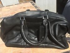 Kenneth Cole Ny Leather Duffle Bag Nwt