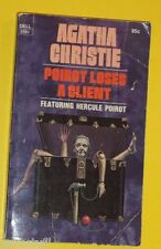 Poirot Loses A Client - Agatha Christie 1975 Paperback Mystery Nice See!