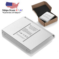 "60Wh 6 Cell Battery A1175 For Apple MacBook Pro 15"" A1150 MA348G/A Laptop Silver"