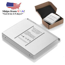 """60Wh 6 Cell Battery A1175 For Apple MacBook Pro 15"""" A1150 MA348G/A Laptop Silver"""