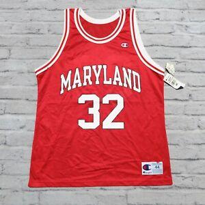 Vintage 90s Maryland Terrapins Joe Smith Basketball Jersey by Champion Size 44