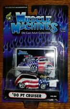 Muscle Machines Patriotic Stars and Stripes 2000 PT Cruiser 1:64 (4E)