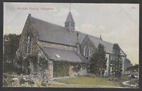 Postcard Atherstone near Nuneaton Warwickshire early view of Merevale Church