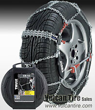 "CD-10 Thule Premium Passenger Car Snow Ice Tire Chains 050 Fits 13"" 14"" 15"" Y2"
