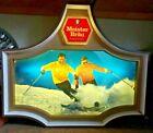 VINTAGE MEISTER BRAU BEER SKIING LIGHTED SIGN