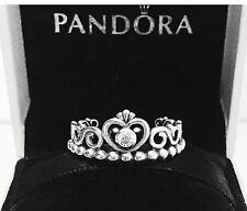 Authentic Pandora My Princess Ring W/ Pandora TAG & HINGED BOX #190880CZ