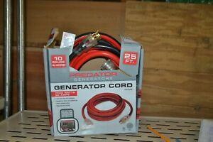 PREDATOR 25 Ft. X 10 Gauge Generator Duty Twist Lock Extension Cord