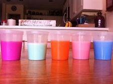 5 MAGIC CUPS * apparently pour different color liquids from same container