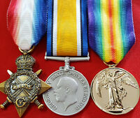 **WW1 AUSTRALIAN BRITISH COMMONWEALTH MEDAL TRIO GROUP REPLICA ANZAC*