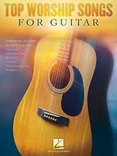 TOP WORSHIP SONGS FOR GUITAR - HAL LEONARD PUBLISHING CORPORATION (COR) - NEW PA