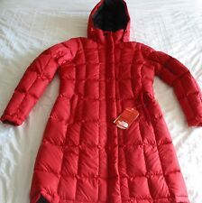 NEW THE NORTH FACE Metropolis Parka - women's down jacket M Medium  Red   NEW