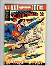 Superman #252 DC-1972-1st Powerstone-Neal Adams Wraparound Cover-KEY 9.2