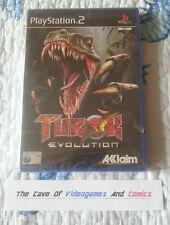 TUROK EVOLUTION PS2 PLAYSTATION 2 NUOVO pal Sigillato (ps3retrocompatibile)