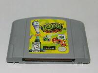 Tonic Trouble Nintendo 64 N64 Video Game Cart