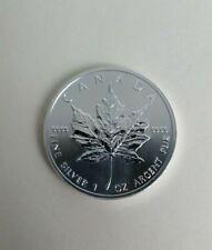 2013 CANADA 1 OZ SILVER MAPLE LEAF $5 COIN GEM BU BULLION