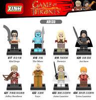 X0135 Baukästen Figur Song Ice Fire Game Thrones Ritter Mini Spielzeug Modell