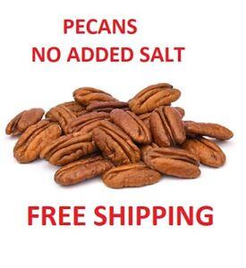 1 Lb Pecans 100% Premium Free Shipping 100% Natural Nueces Pecan No Added Salt