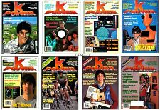 All Issues of K-Power Magazine w/Extras on Data CD (Old Game Magazines)