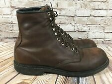 RED WING 2233 Steel Toe Brown Leather Work Boots Men's 12 B (Narrow) Made in USA