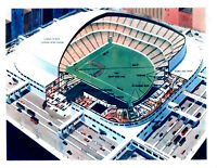 1955 O'MALLEY DOME STADIUM PROPOSAL BROOKLYN DODGERS EBBETS FIELD  8X10 PHOTO