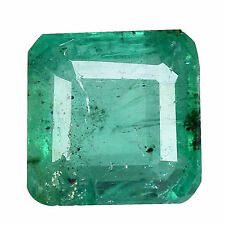 Slight Zambia Transparent Loose Natural Emeralds