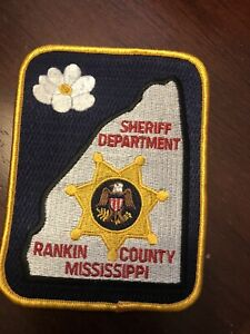 Mississippi  Police -  Rankin Sheriff  MS  Police  Patch