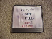 As Night Falls by Jenny Milchman (2015, 10 CDs, Ex-Library Unabridged) Free Ship