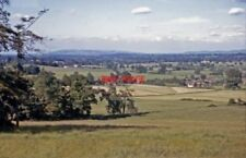 PHOTO  GLOUCS 1964 NE FROM BARROW HILL HASFIELD TO BREDON HILL AND OXENTON HILL