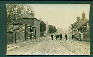 LINCOLNSHIRE,DEEPING ST JAMES, POST OFFICE,vintage postcard