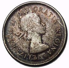 1963 Canada British Queen Victoria Silver Twenty-Five 25 Cents Canadian Coin
