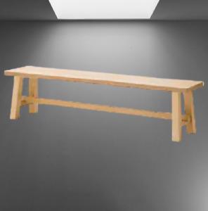 *New* MOCKELBY Bench Oak 108 cm 604.240.44 *Brand IKEA*