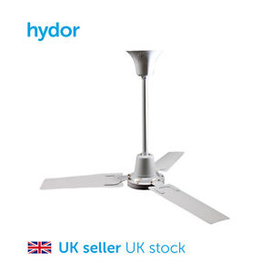 Hydor Ceiling Fan 48 Inch - Destratification Sweep Fan 230V Speed Controllable