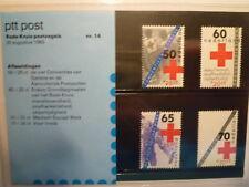Niederlande Rotes Kreuz / red cross Post Ausgabemappe