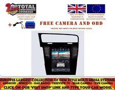 "10.4"" TESLA DVD GPS NAVI BT ANDROID 7.1 DAB+ RADIO VW GOLF 7 VII NH-1032"
