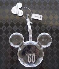 NEW Disney Parks Disneyland 60th Diamond Celebration Mickey Icon Gem Ornament