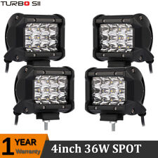 4x Cree Led Work Lights Pods Spot Offroad Lamp For ATV JEEP UTE 4'' Cube Vs 18W