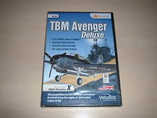 ✈️ FSX TBM AVENGER DELUXE ~ FLIGHT SIMULATOR X FSX ADD-ON RARE *NEW SEALED*