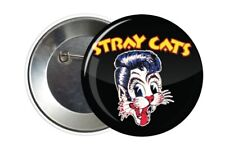 Badge Pin Button 38 mm The Stray Cats