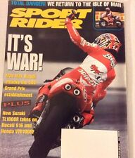 Sport Rider Magazine Mad Max Biaggi Attacks The 500 October 1998 073017nonrh