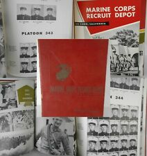 1952-1954 MARINE CORPS Recruit Depot SAN DIEGO CA 5th Battalion PLTs 342 343 344