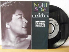 "7"" Single - ELLA FITZGERALD - Night & Day - LOUIS ARMSTRONG - Let´s Do It - NM!"