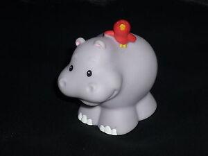Fisher Price Little People Ark Zoo Light Hippo Bird
